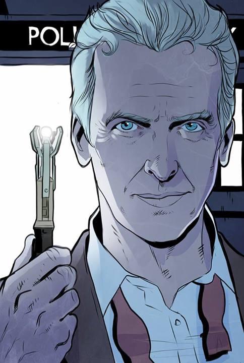 Peter Capaldi by Stephen Byrne