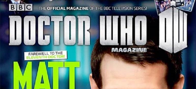 Okładka Doctor who Magazine #370