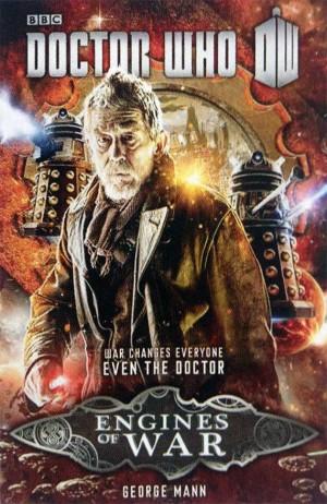 Okładka książki o przygodach Doktora Wojny