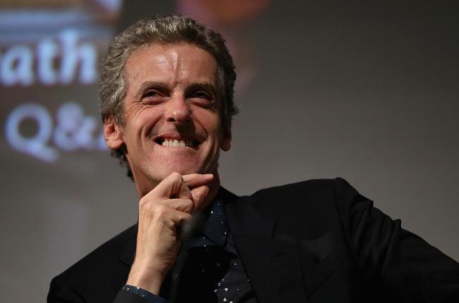 """Peter Capaldi podczas Q&A w dniu światowej premiery ósmej serii """"Doktora Who"""""""