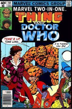 "Komiks Marvela z serii ,, Two-in-One"""