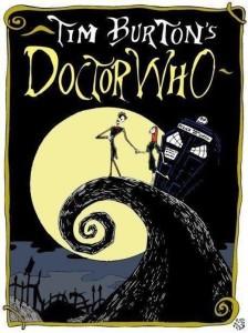 """Fanart plakatu filmu Tima Burtona ,,Miasteczko Halloween"""""""