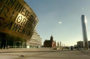 Wales Millennium Centre w odcinku Boomtown