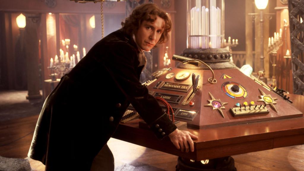 Paul McGann jako Ósmy Doktor.