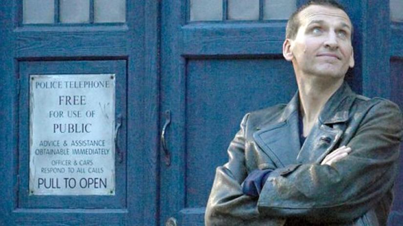 Christopher Eccleston jako Dziewiąty Doktor.