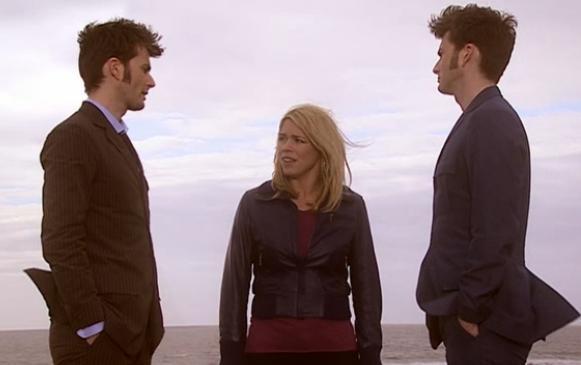 czy pochodzenie Doktor powiązane jest z Rose i Metakryzysowym Dziesiątym?
