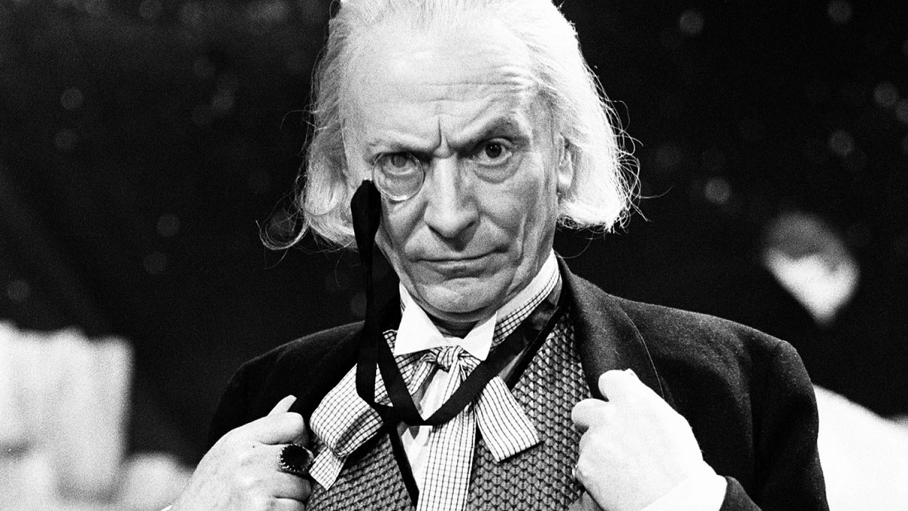 William Hartnell jako Pierwszy Doktor.