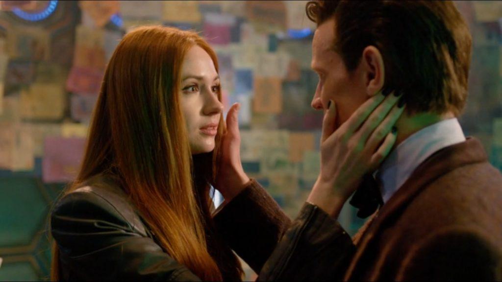 Amy Pond (Karen Gillan) i Jedenasty Doktor (Matt Smith).