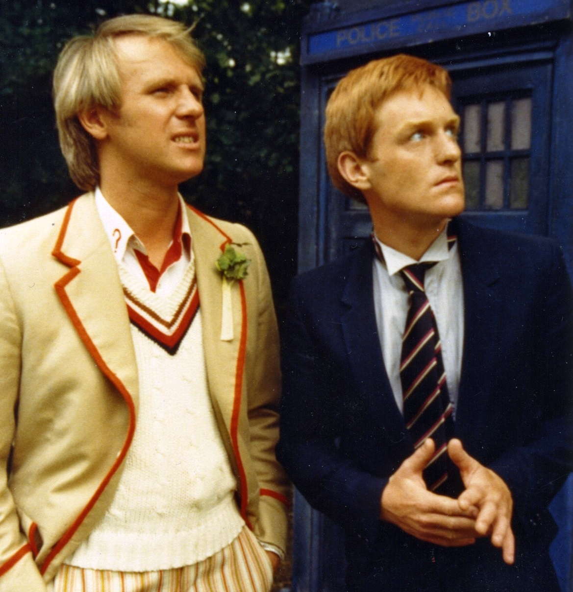 Mark Strickson i Peter Davison