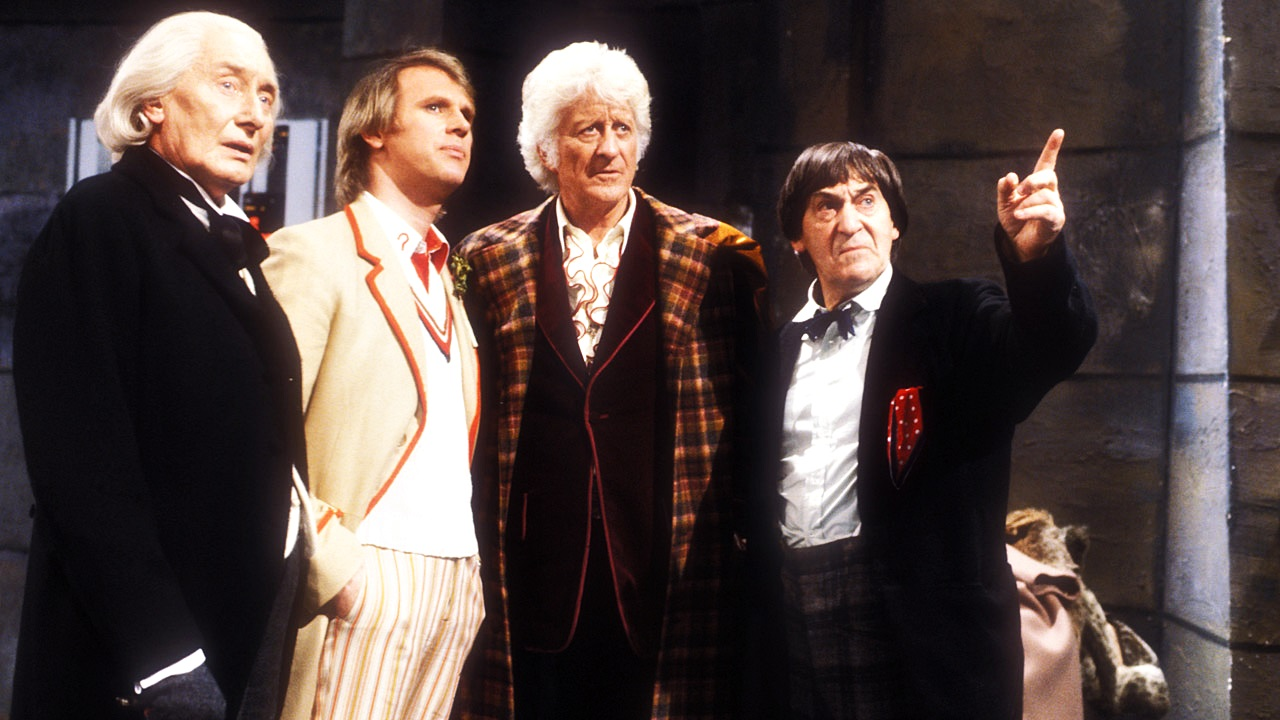 Kadr z Five Doctors, w którym grał Mark