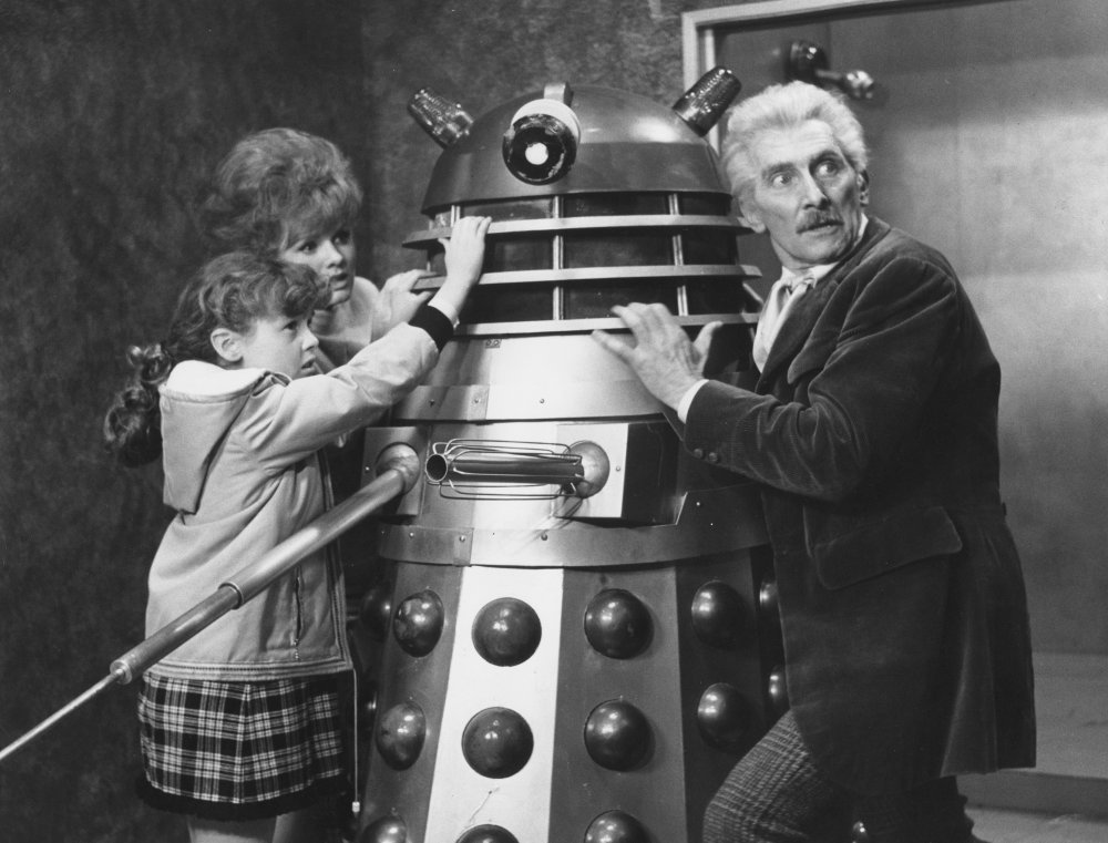 "Film ""Dr. Who and the Daleks"" (1965)."