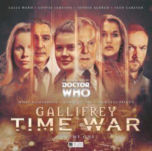 Okładka słuchowiska Gallifrey Time War
