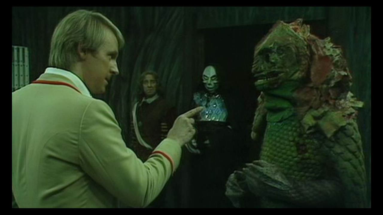 Piąty Doktor i Terireptil