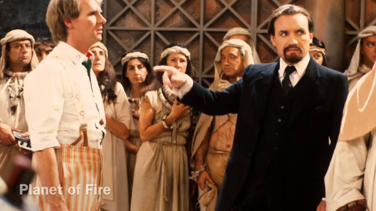Piąty Doktor i Mistrz