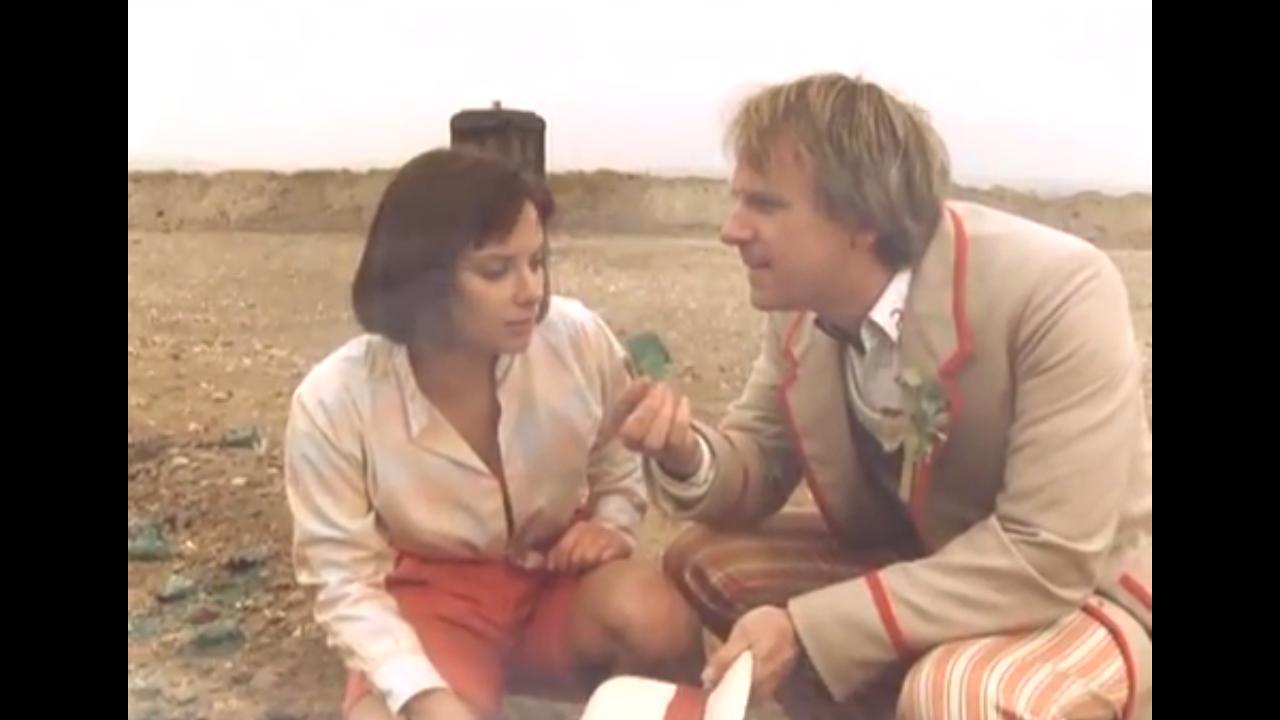 Piąty Doktor i Peri na Androzani Minor