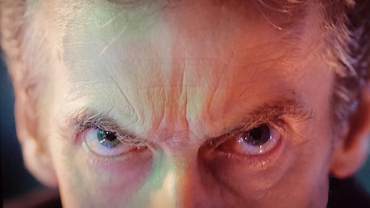 Kadr z Day of the Doctor napisany przez Steven Moffat
