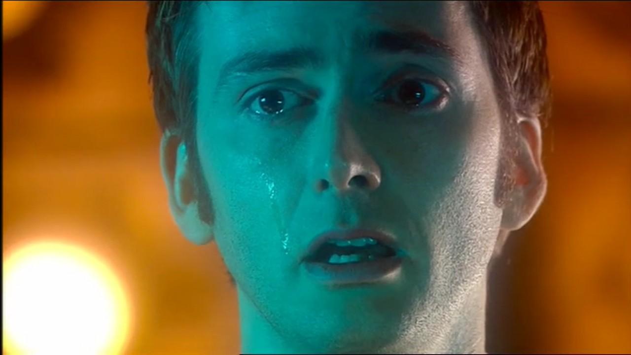 Dziesiąty Doktor po pożegnaniu z Rose