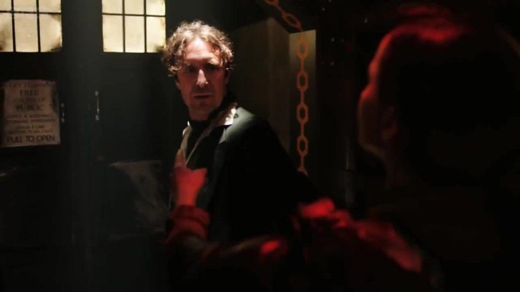 Ósmy Doktor, kadr z odcinka Night of the Doctor.