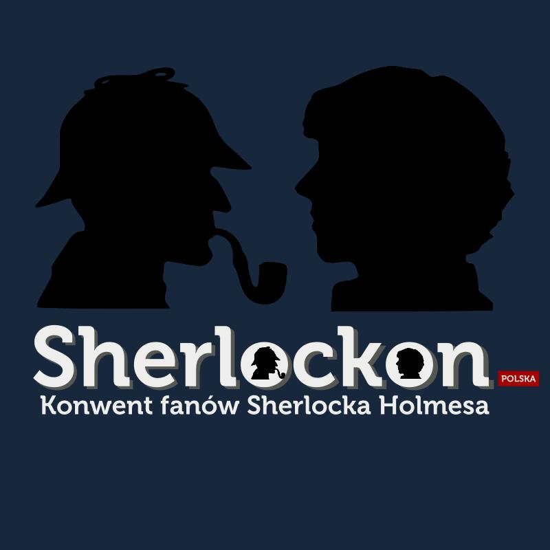 Grafika promująca Sherlockon.