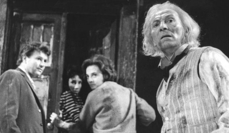 Kadr z odcinka An Unearthly Child