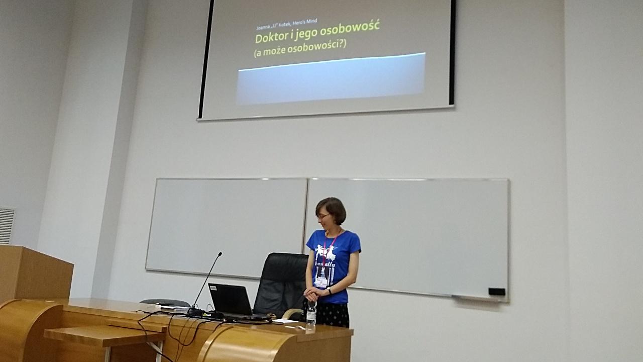 Joanna Kotek o osobowości Doktor(a).