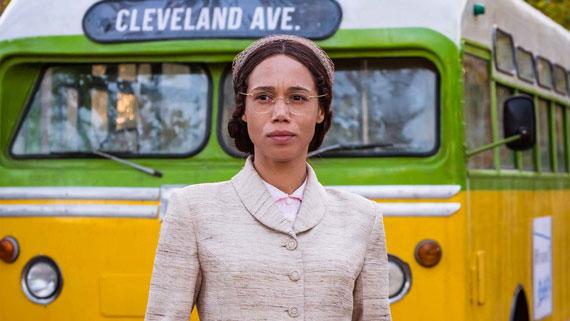 Vinette Robinson jako Rosa Parks