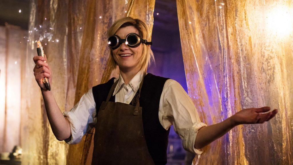 Jodie Whittaker w roli Trzynastej, pierwszej kobiety-Doktor.