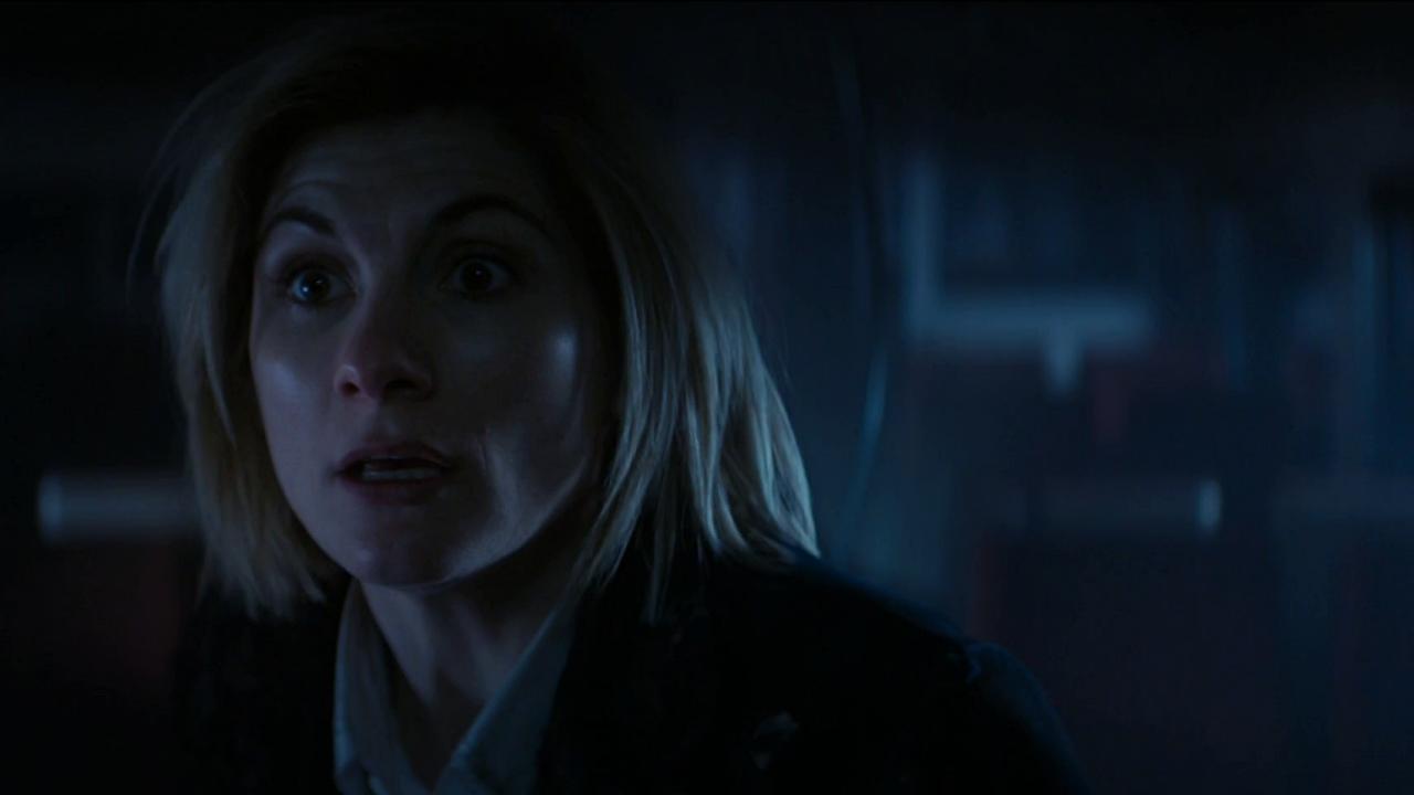 Jodie w swoich pierwszych sekundach jej pierwszego odcinka