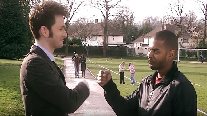 Dziesiąty Doktor i Mickey Smith