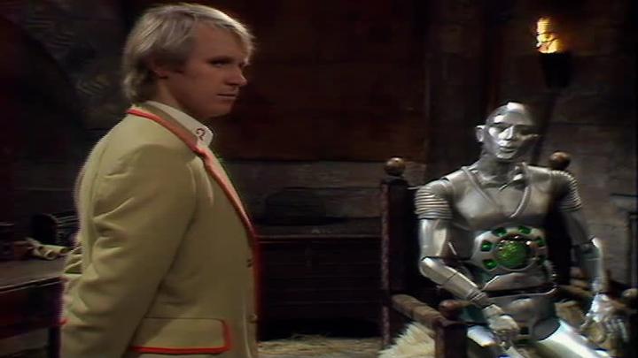 Piąty Doktor i Kamelion