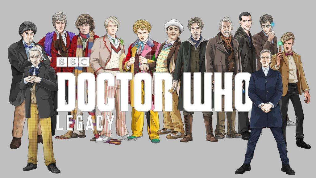 grafika promocyjna gry Doctor Who legacy