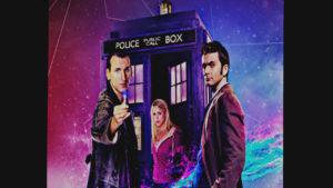 Dziewiąty i Dziesiąty Doktor oraz Rose Tyler