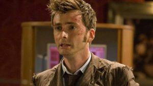Dziesiąty Doktor po monologu w End of Time