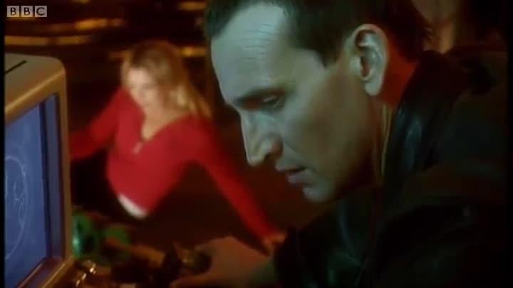 Dziewiąty Doktor (Christopher Eccleston) tuż przed regeneracją w Dziesiątego