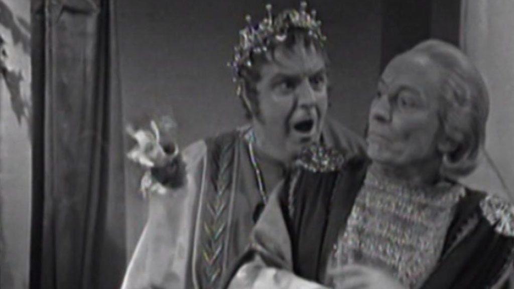 """Pierwszy Doktor i Neron. W historii """"The Romans"""" to Doktor okazał się być sprawcą wydarzeń."""
