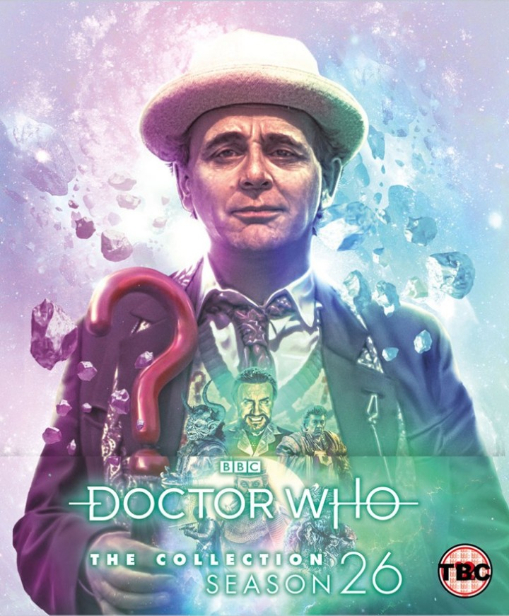 "Okładka wydania ""Doctor Who: The Collection. Season 26"" - ostatni sezon klasyków na Blu-Ray."