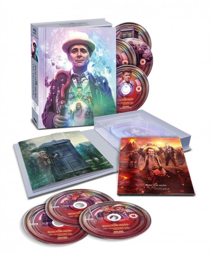 """Promocyjne zdjęcie zestawu Blu-Ray """"Doctor Who: The Collection. Season 26""""."""