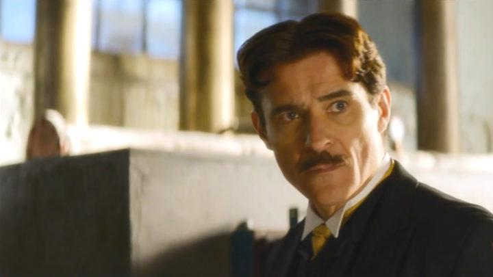 Kadr z trailera, zapowiadającego 12 serię. Goran Višnjić jako Nikola Tesla.