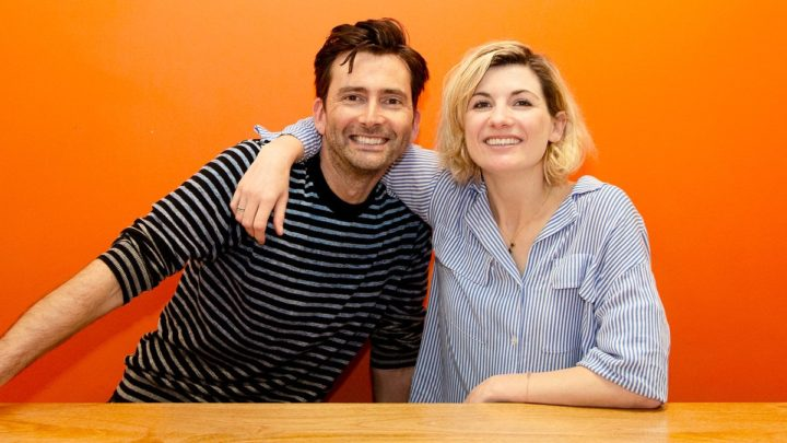 """Jodie Whittaker współpracowała już z Davidem Tennantem przy """"Broadchurch""""."""