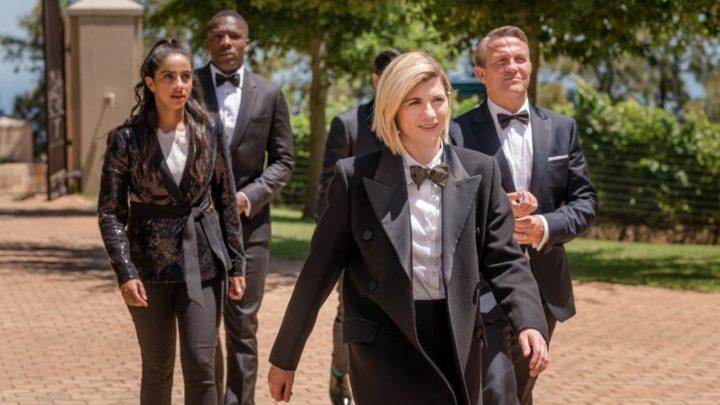 """Trzynasta Doktor i jej towarzysze. Kadr z odcinka """"Spyfall Part 1"""", który na BBC First pojawi się 12 stycznia."""