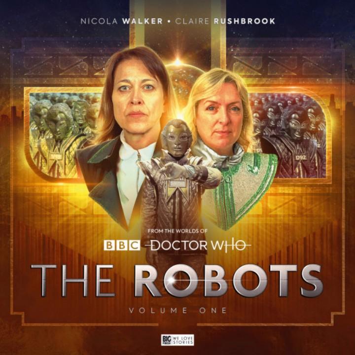 """Okładka słuchowiska """"The Robots""""."""