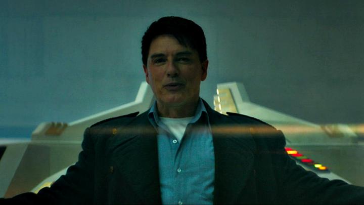 John Barrowman jako Jack Harkness powracający w piątym odcinku 12 serii.