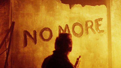 No more na ścianie
