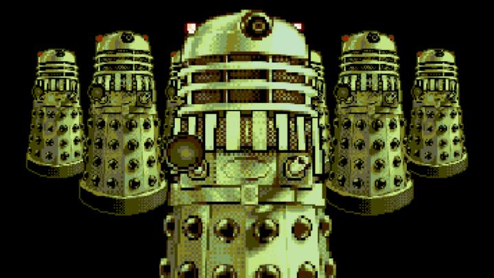 obrazek przedstawiający daleków z gry Doctor Who Dalek Attack