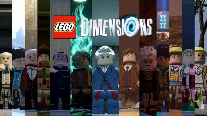 wszystkie wcielenia doktor(a) w wersji lego