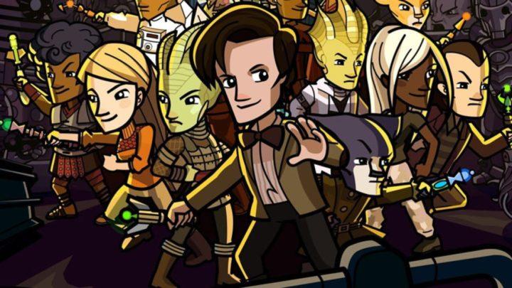 Obrazek promujący grę Doctor Who: Worlds in Time