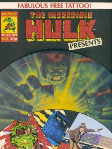IHP zawierający jeden z komiksów Nemesis of the Daleks