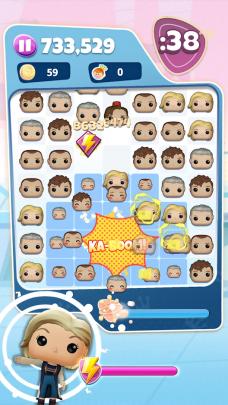 screen z gry Funko pop blitz