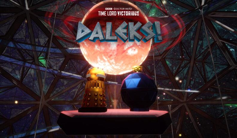Daleks! Planet of Mechanoids