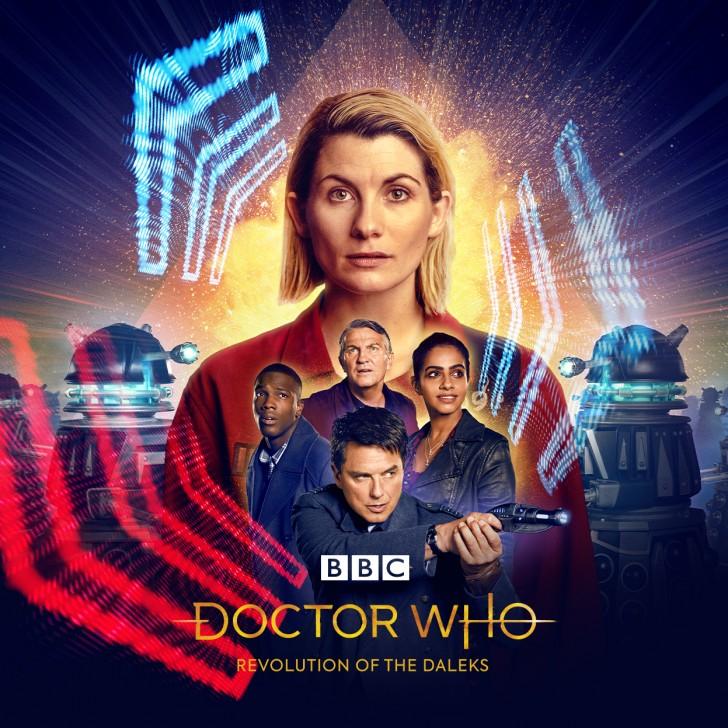 Revolution of the Daleks plakat